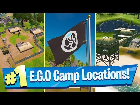 Eliminate Opponents At EGO Outposts Or Retail Row (Ego Landmark Locations) - Fortnite Battle Royale