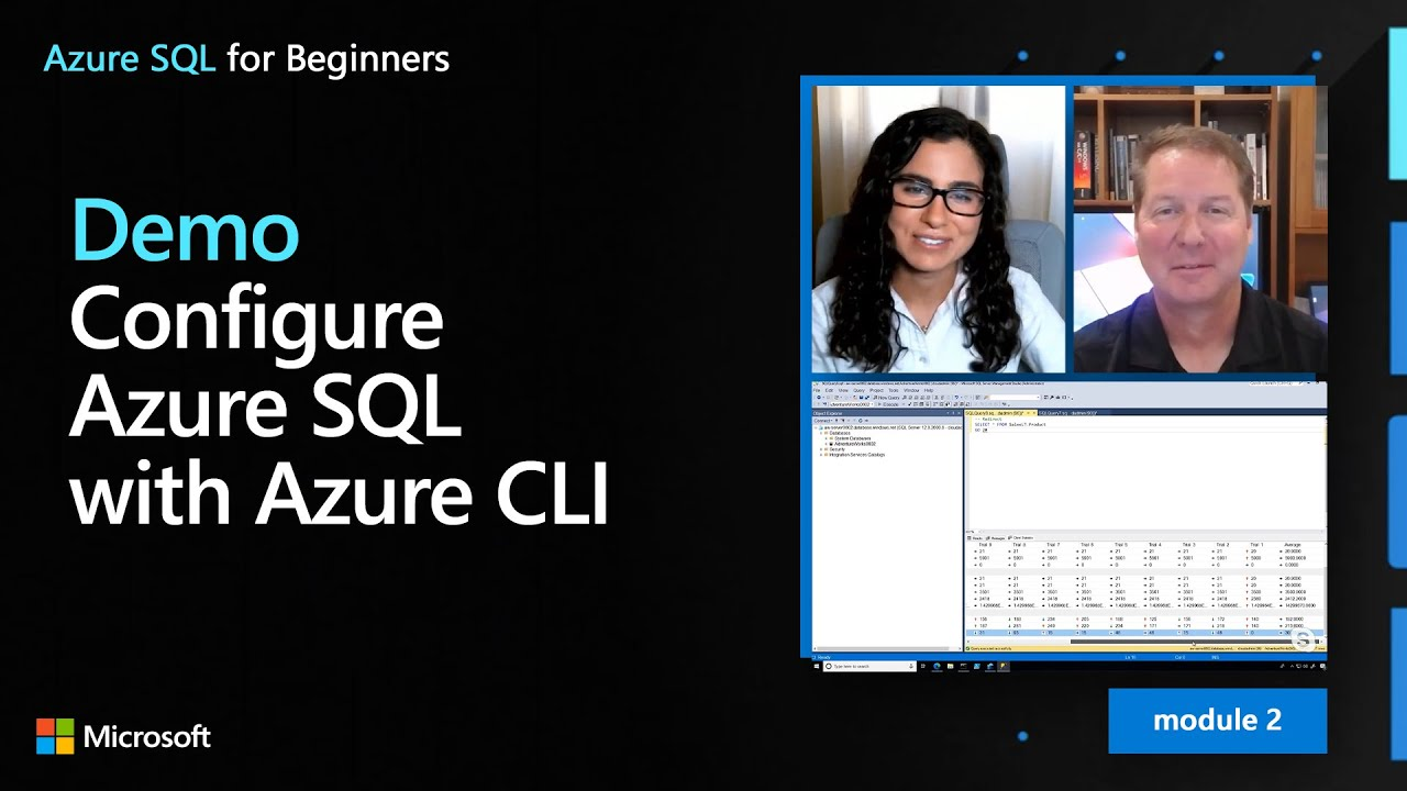 Demo: Configure Azure SQL with Azure CLI | Azure SQL for beginners (Ep. 17)