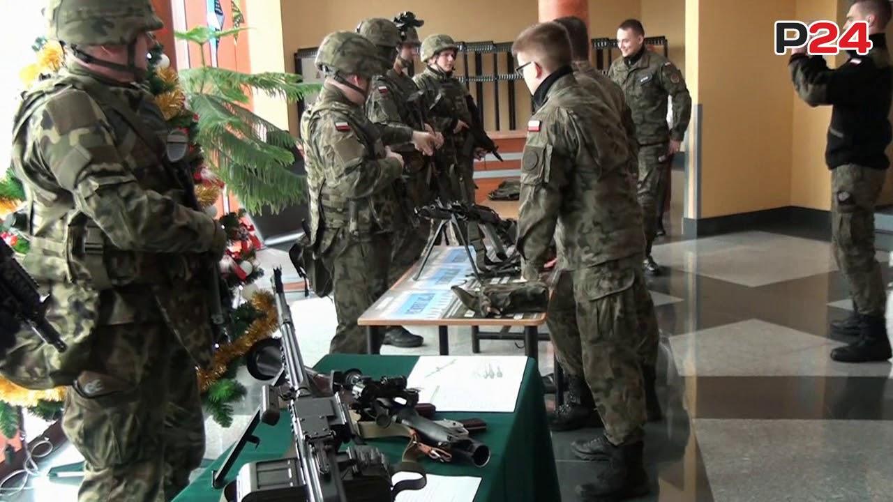 Legia Akademicka w sanockiej PWSZ? Pokaz sprzętu wojskowego i strzelanie ostrą amunicją