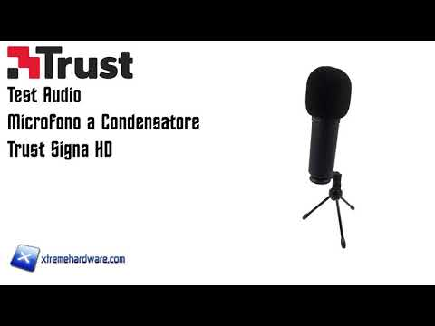 [Test Audio] Microfono Trust Signa HD