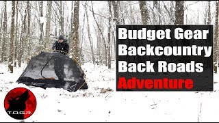 Budget Gear Winter Storm - Overnight Adventure