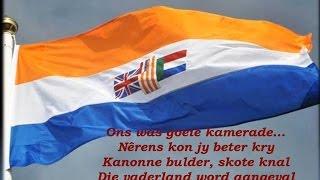 Suid-Afrikaanse Weermag: Ons was goeie kamerade