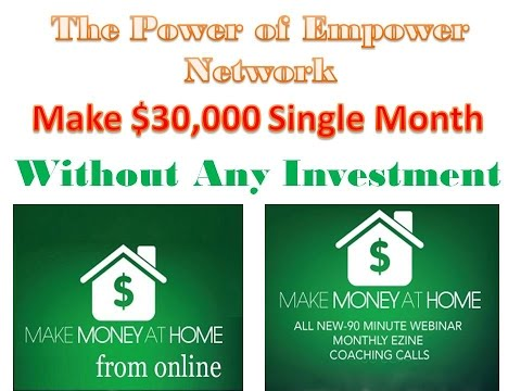 Empowr Make Money Online 4th Generation Brand New Program Based On Facebook