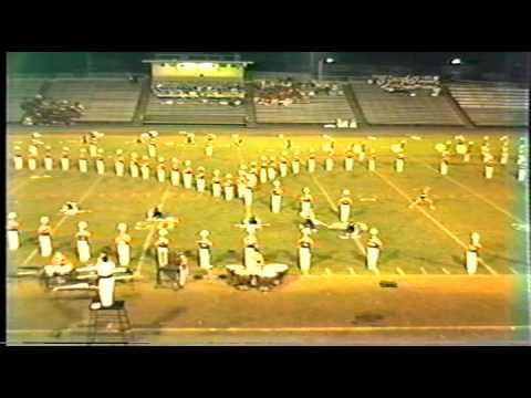 Needham Broughton High School Marching Band-Lynchburg 1986