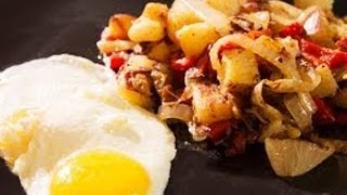 Classic Breakfast : Eggs & Fried Potatoes Recipe