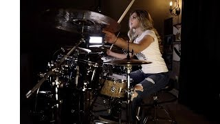 """SEVENDUST """"Face to Face"""" Drum Cover~Brooke C"""
