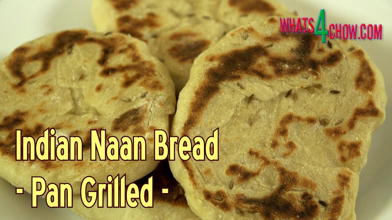 How to make indian naan bread homemade naan bread recipe pan how to make indian naan bread homemade naan bread recipe pan grilled youtube forumfinder Gallery