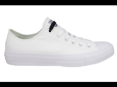 Converse CHUCK TAYLOR ALL STAR II OX 150154C - YouTube 16c4acf70