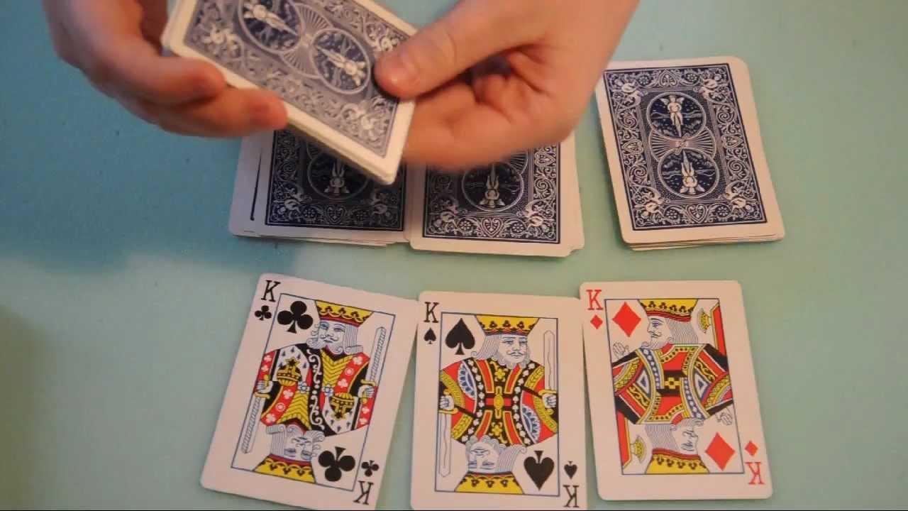 Einfacher Kartentrick Mit
