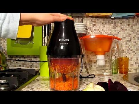 Elektromelnichka Philips Hr2505 Onion Chef V Rabote Philips Onion Chef Chopper Hr2505 In Work Youtube
