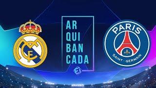 REAL MADRID X PSG (narração AO VIVO) - Champions League