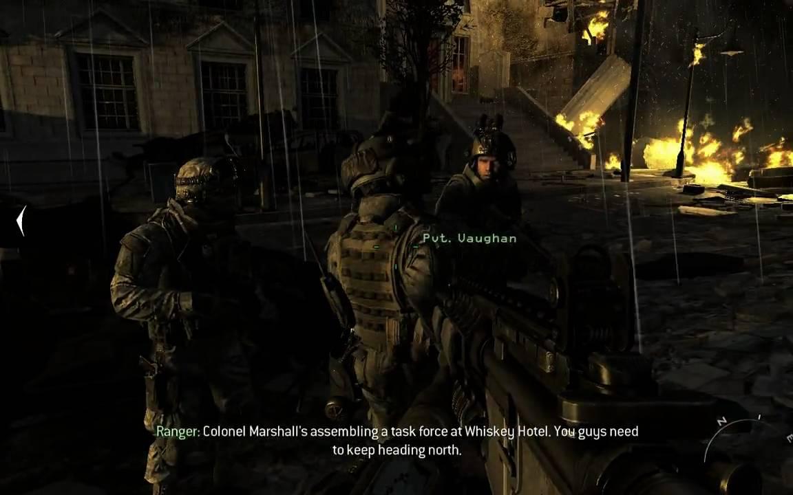 Call of Duty Modern Warfare 2 - Washington EMP