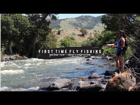 Weekend Vlog // First Time Fly Fishing + Hiking In Yellowstone