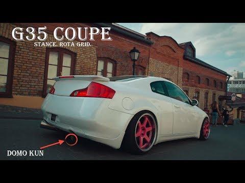 Infiniti G35 Coupe. Stance, Rota Grid, Домо-кун (тест драйв / обзор)