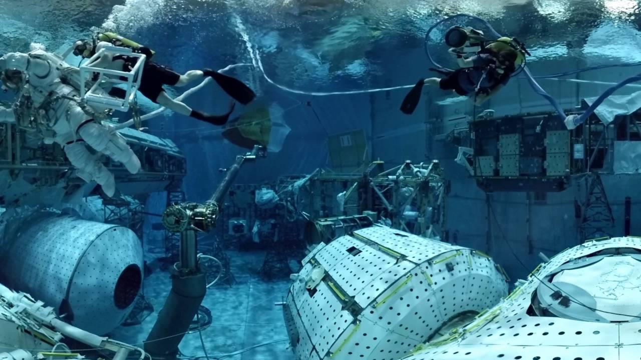 NASA VR/360 Astronaut Training: Space Walk