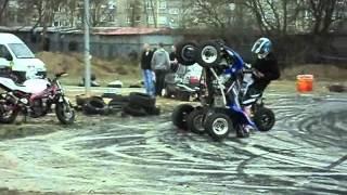 Ewolucje Quadów na Szczecińskich Targach Motoryzacji