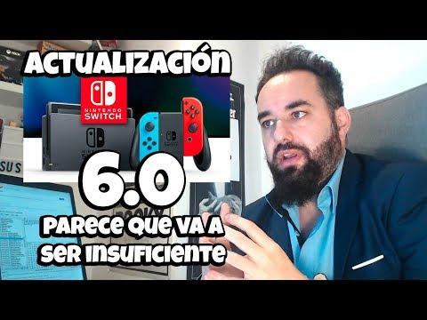 Actualización 6.0 Nintendo Switch PARECE QUE NO VA A DEJAR A NADIE INDIFERENTE POR SER INSUFICIENTE