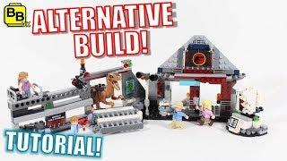 LEGO JURASSIC PARK 75932 ALTERNATIVE BUILD SOUVENIR ATTACK!