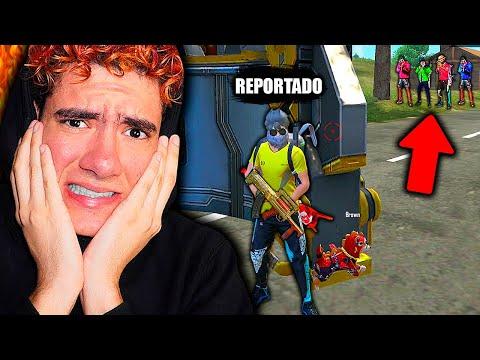 POR ESTAS JUGADAS QUE HICE TODOS LOS JUGADORES ME REPORTARON EN FREE FIRE *modo hacker* | TheDonato