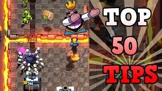 Los mejores 50 consejos y trucos en Clash Royale | COMO SER UN PRO EN Clash Royale