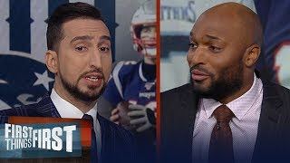 Pats defense let them down, Deshaun Watson is one of best QBs — Toomer | NFL | FIRST THINGS FIRST