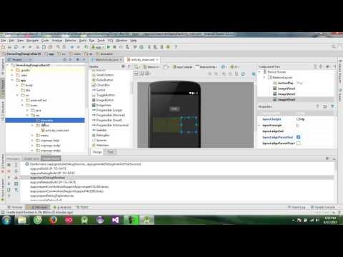 Android Studio -Game bầu cua cơ bản- Hướng dẫn lập trình android - demo ứng dụng cơ bản 10