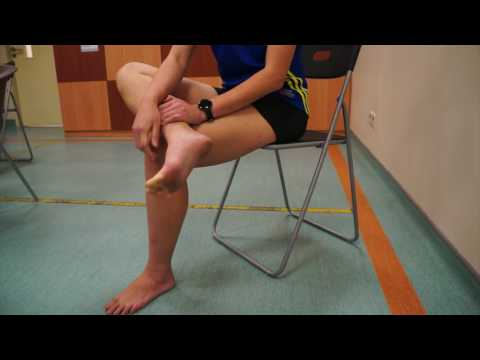 NUH Physiotherapy Seated Plantar Fascia Stretch