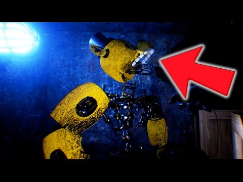 YOU WON'T BELIEVE IT! NEW IGNITED GOLDEN FREDDY? (Lost and Found FNAF Free Roam)