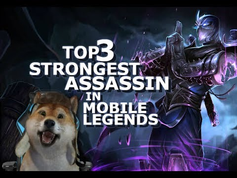 Top 3 Strongest Assassin In Mobile Legends - Giveaways - Diamonds - Natalia - Fanny - Saber - Karina
