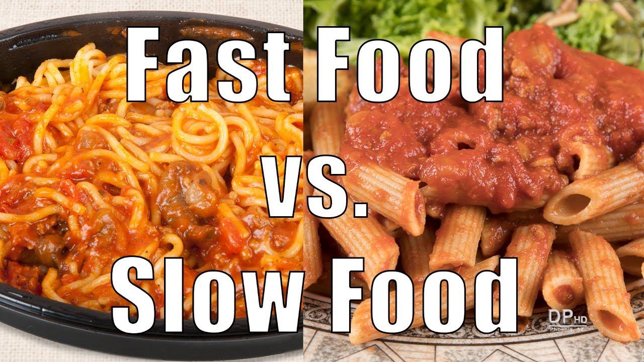 Fast foods vs slow foods 700 calorie meals dituro for Lean cuisine vs fast food