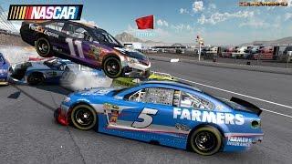 Nascar 2013 The Game Longer Extreme Crash Compilation