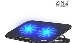Unboxing and Review of Zinq Technologies laptop cooling pad