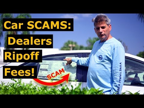 How New Car Dealers Scam You: Fake Window Stickers, Prices