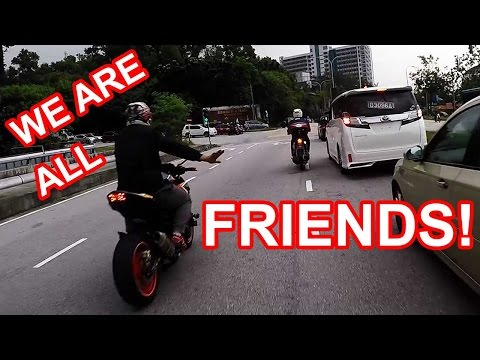 Made Friends with Another Z800 Rider | Malaysia Motovlog