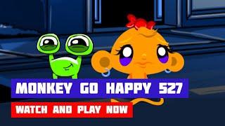 Monkey GO Happy: Stage 527 — Abuba the Alien · Game · Walkthrough
