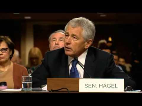 Chuck Hagel Confirmation