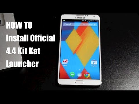 How To Install Official 4.4 Kit Kat Launcher On Any Android Device 4.1+