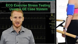 ECG Exercise Stress Testing Using a GE Case System