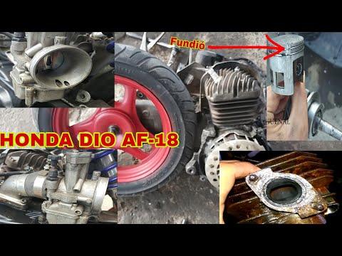 Honda Dio Af-18 Carburador 34mm 😱 Se Explotó Mi Honda Dio (Cigüeñal, Pistón Y Cilindro Nuevo)😱