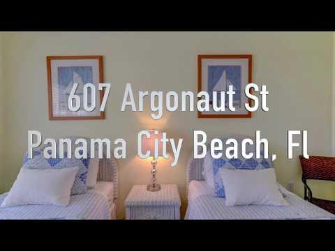 VACATION RENTAL: 607 Argonaut St, Panama City Beach, Fl