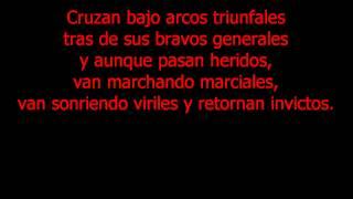 Himno ejercito de Chile Con Letra-HD