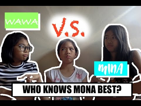 Who Knows Mona Best?! Bestfriend vs Sister🤔 | Trimagical Stars