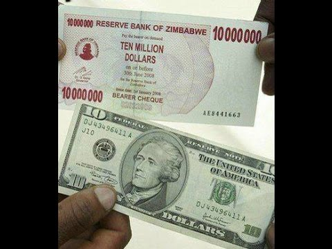 Zimbabwe Dollar To Usd Why I Don T