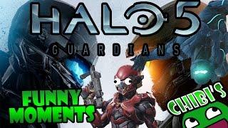 Halo 5 Funny Moments Ep.1 Funny Ragdolls, Slam fail, Vale SUCKS!