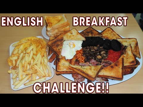 UNDEFEATED ENGLISH BREAKFAST CHALLENGE!!