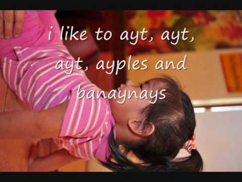 barney apples and bananas lyrics Travel Video
