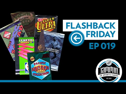Flashback Friday EP.19 - Retro Pack Opening Football & Basketball
