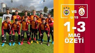 Özet | Fenerbahçe 1-3 Galatasaray (Elit U19 Gelişim Ligi)