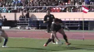 全国大学ラグビーフットボール選手権大会 天理大学ラグビー部 準決勝戦