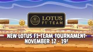 Angry Birds Friends Lotus F1 Team tournament on Facebook - do not miss!